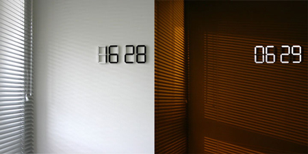 black-white-clock
